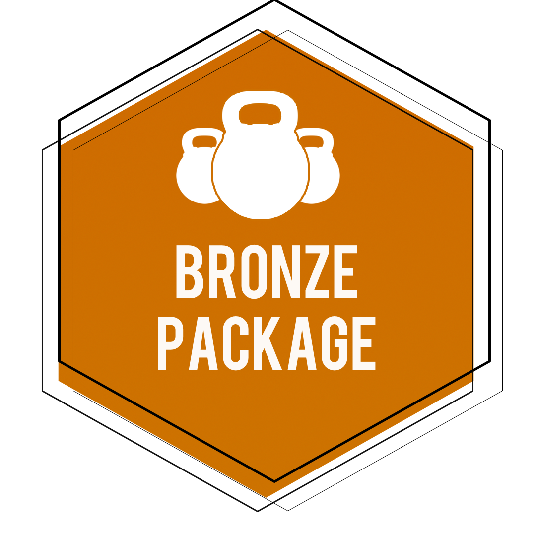$129 - *$1.50 A DayOnline Personal Training Bronze Package Includes:•12 Week Training Plan for your fitness goals•Nutrition Guidance Adjusted to Your Caloric Requirements•Unlimited In-App Support From John •Access to My Training App and Exercise Library