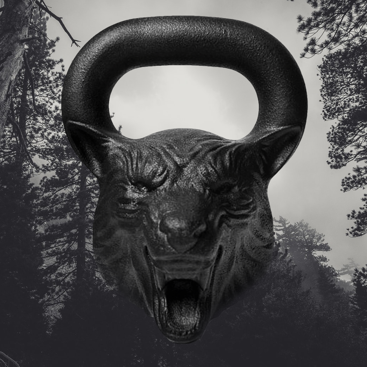 Animal Face Kettlebells -