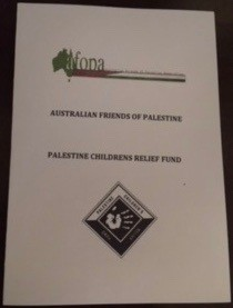 Special poster-book of messages of hope from Australia.