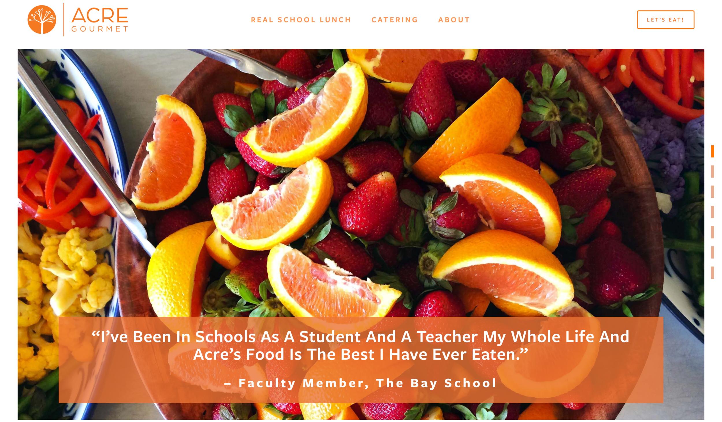 Acre Gourmet Bay School Quote.png