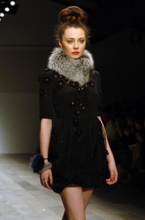 Fox collar by Rebecca Bradley