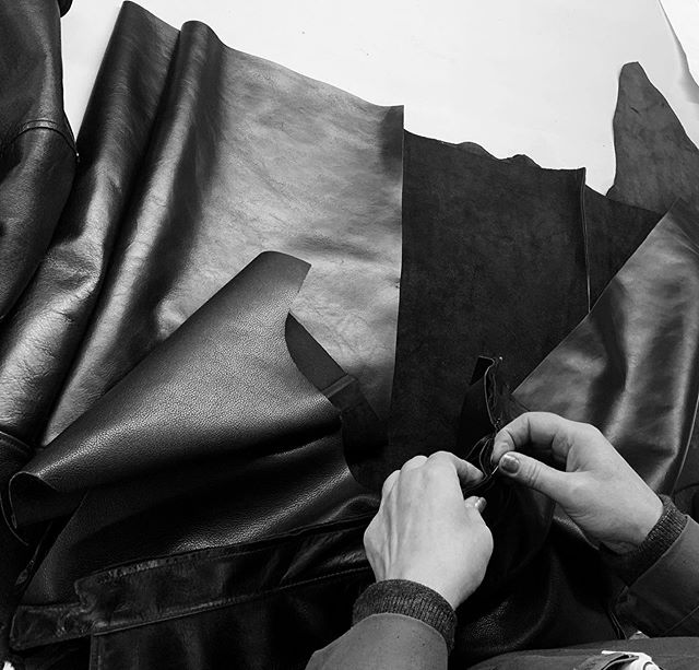 We also specialise in leather . #leather #leatherrepairs #bespokepieces #leathergoods #leatherspecialist #crafts