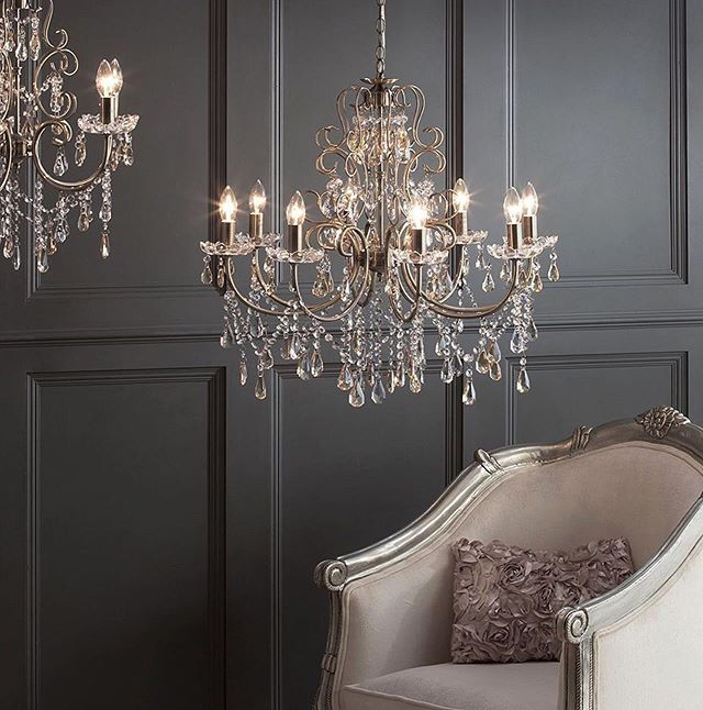 A sapphire mink cushion wouldn't look out of place besides this chandelier #perfecttones #photography #furneeded #beautiful #greys #neutrals #elegant #instag #instagood #readyforhome #hometime