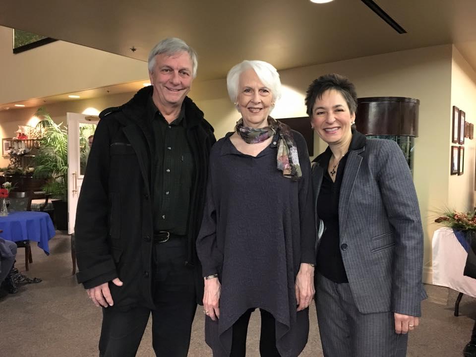 David Hetherington (cellist), Patricia Parr, Linda Ippolito (pianist)