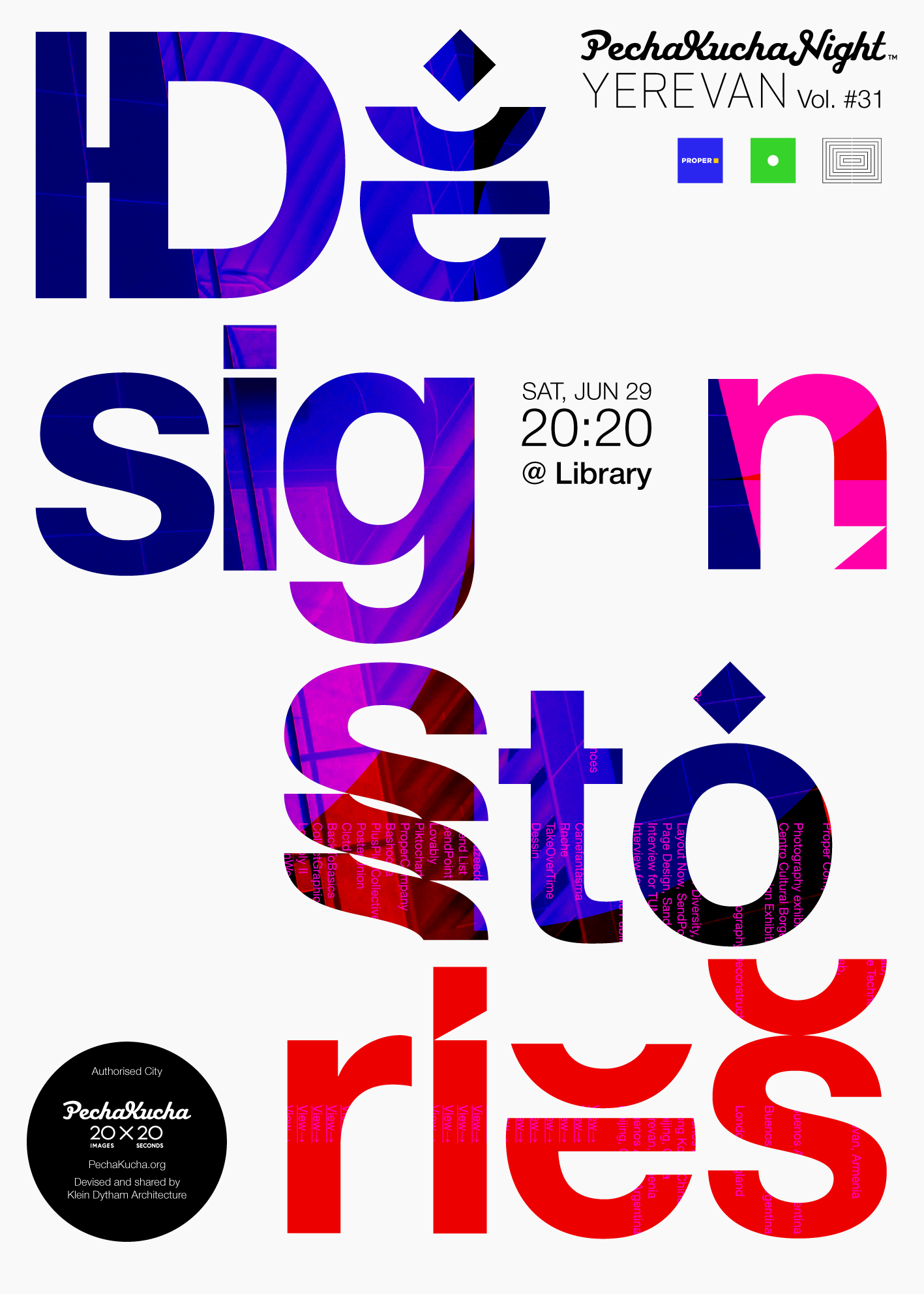 Vol. 31 - Design Stories - 11 stories on typography, UX design for physical spaces, work-life balance, client management, fashion, education, and more!Poster by Mane Tatoulian
