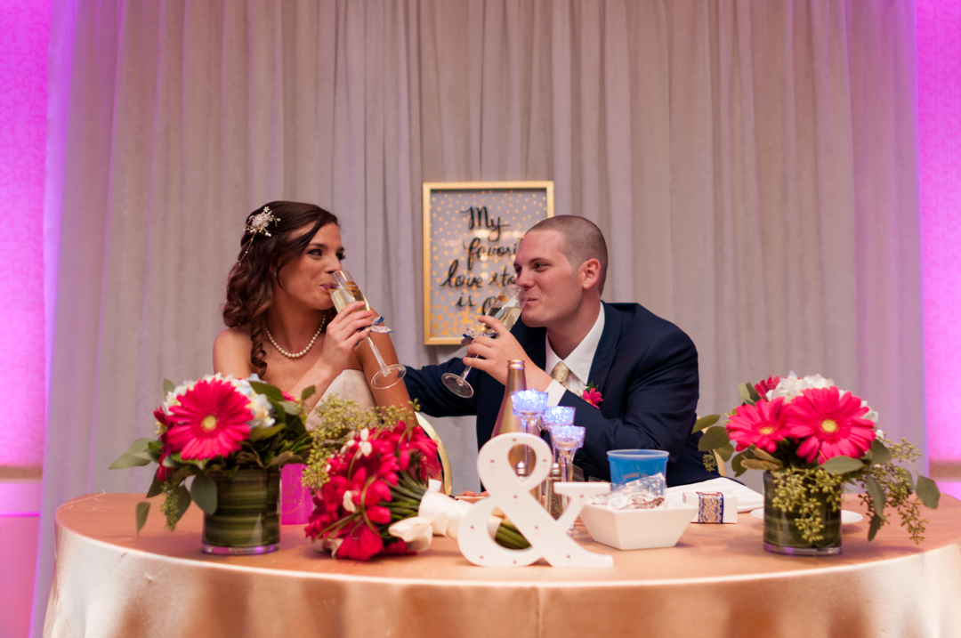 RECEPTION - Wine, dine, greet your guests, and take in the moment. Speeches from family and friends may intersperse your meal, and share with your loved ones just how lucky you are to be tying the knot.