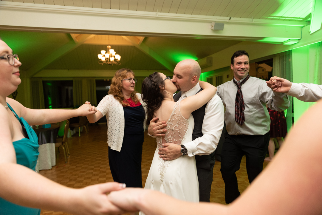 LAST DANCE - Your guests may gather around and watch you and your spouse celebrate the very last dance of your wedding.
