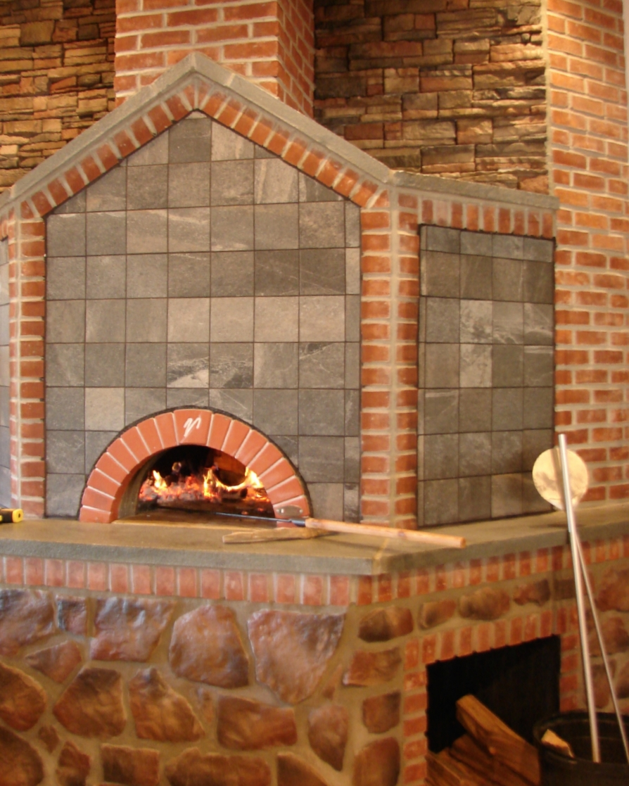 Wood Fired Brick Ovens D L Fireplace Gardens