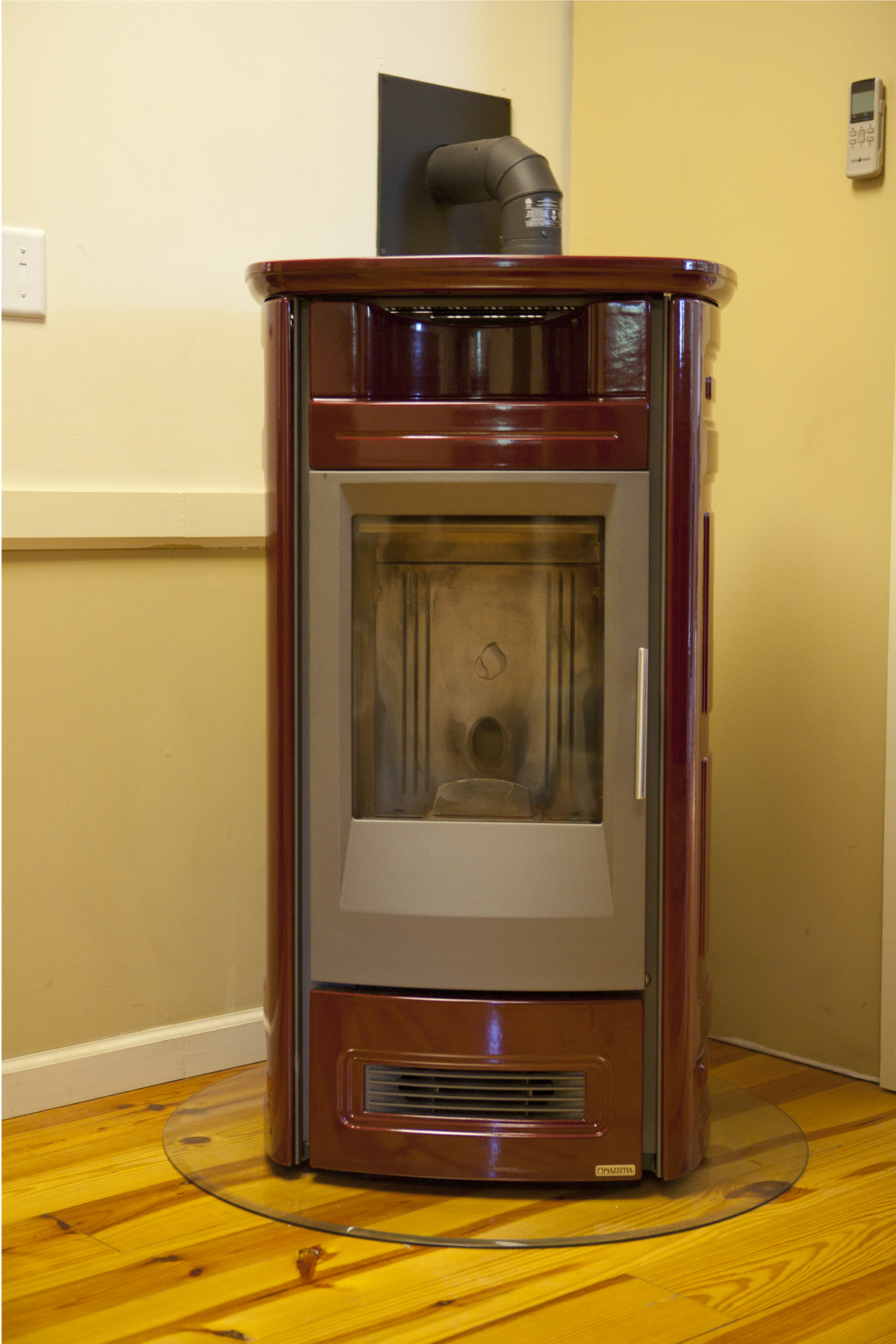 Piazzetta Pellet Stove On Display In Our Store