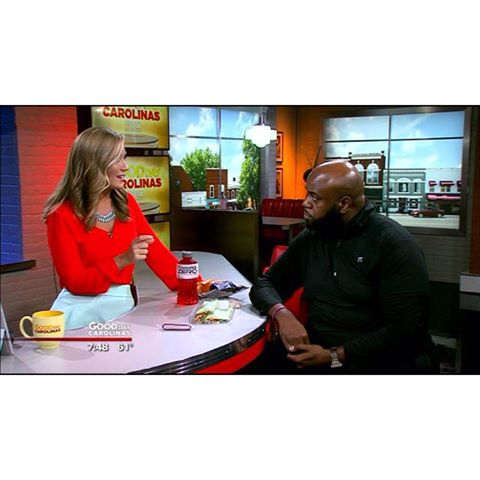 My segment on Fox 46 WJZY Good Day Carolinas concerning my 160+ lbs weight loss since 2013