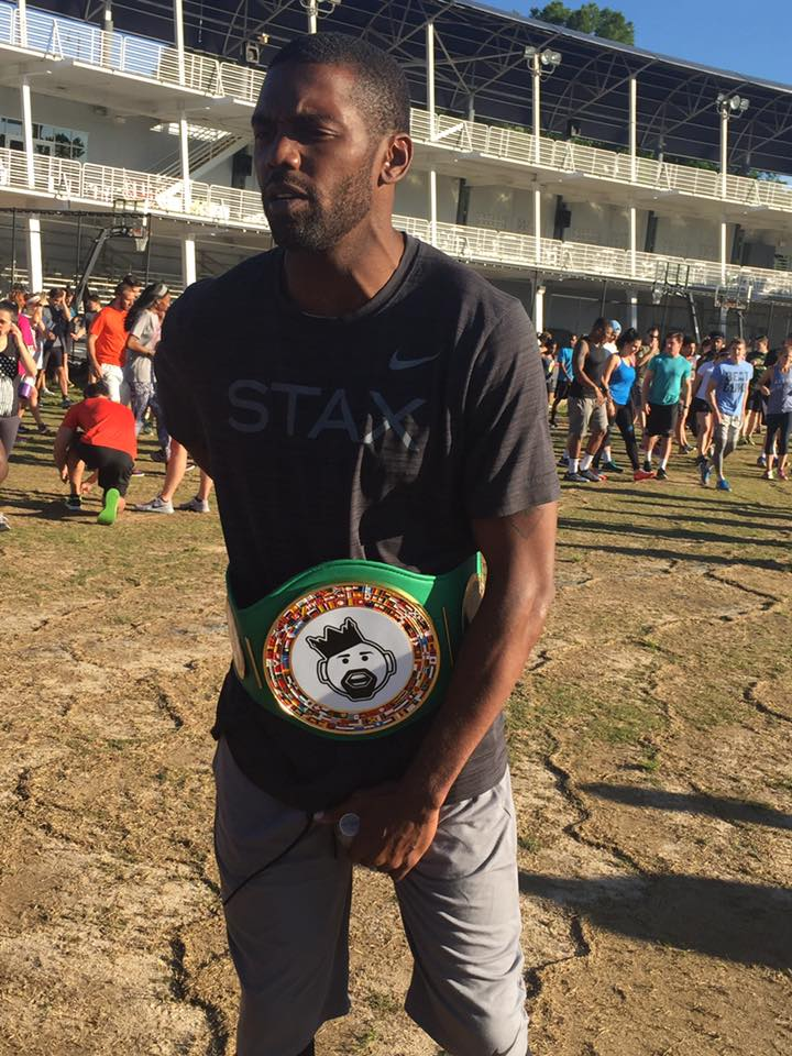 Randy Moss was voted Guest Lecture Champion by the students of ENG 296 Sole Food Brand: Digestible Sneaker Culture.