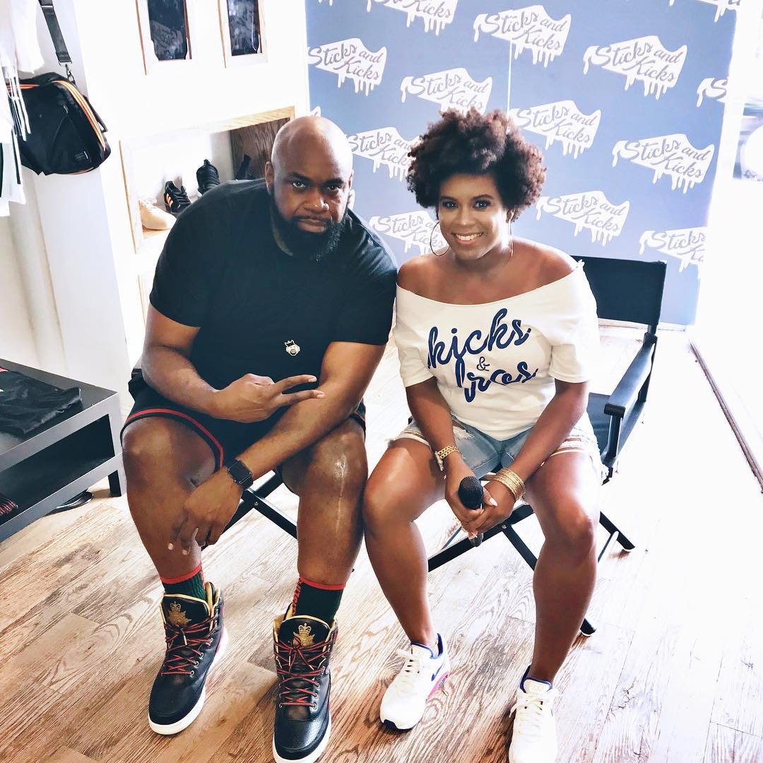 Melissa Chanel is the ultimate host; she is also a branding master. Yesterday was extremely gratifying as I am honored to be featured on the #SticksandKicks tour.