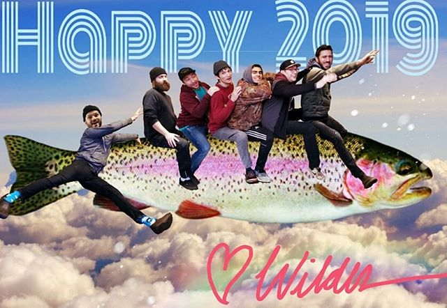 It's a little early, but we are so excited! Kyle, Conner, Alec, Doug, Geno, Matt and Nate wish all'yall a Happy New Year!  #happynewyear #2019