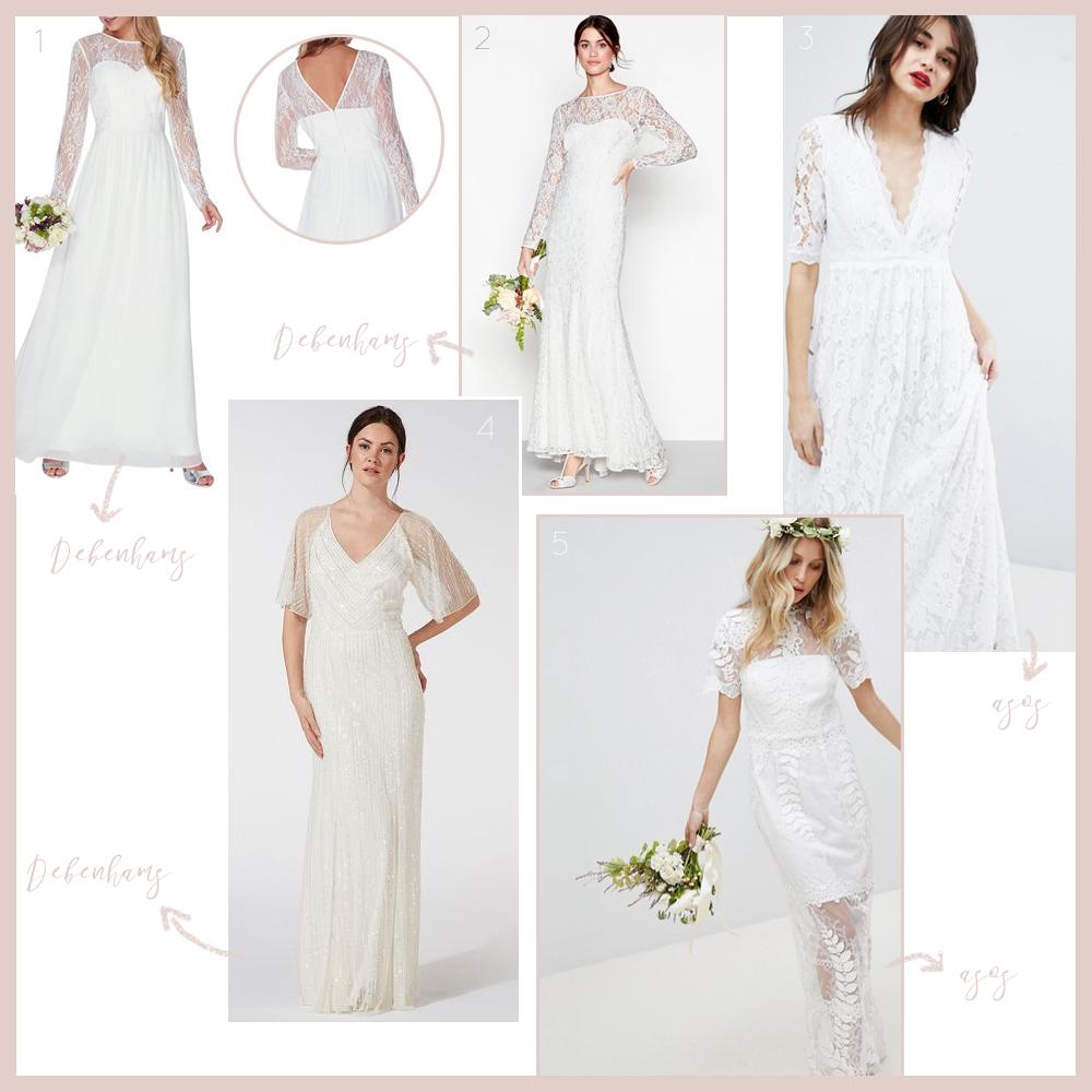Long Sleeved Wedding Dresses on a Budget — Leaf Lane Studio