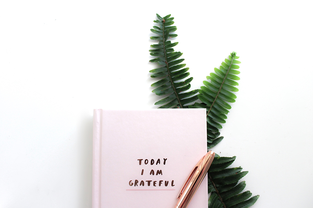 I love a gratitude list; it helps remind me why I am putting the work in!  Image by Gabrielle Cole on Unsplash