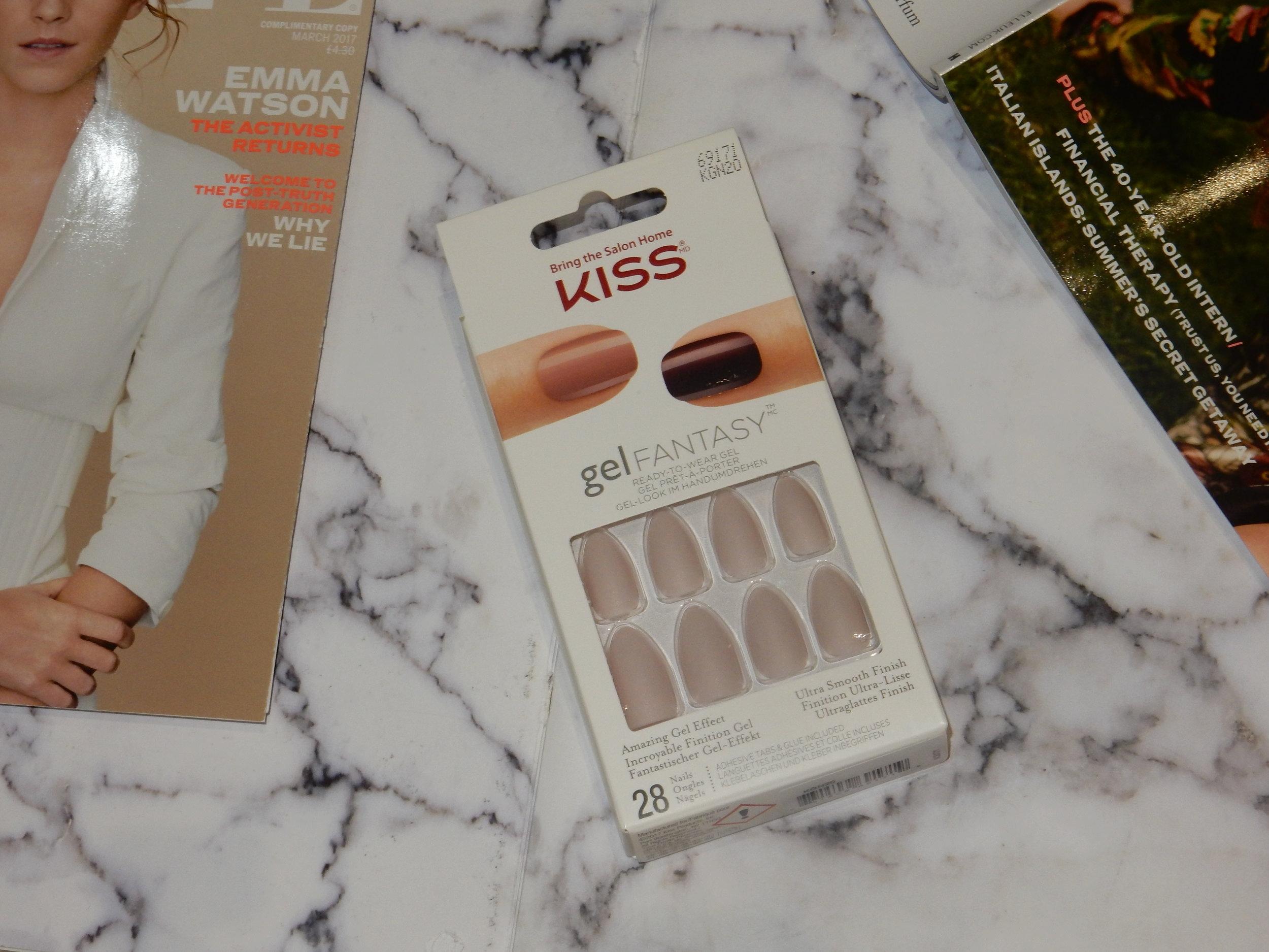 kiss gel fantasy false nail review