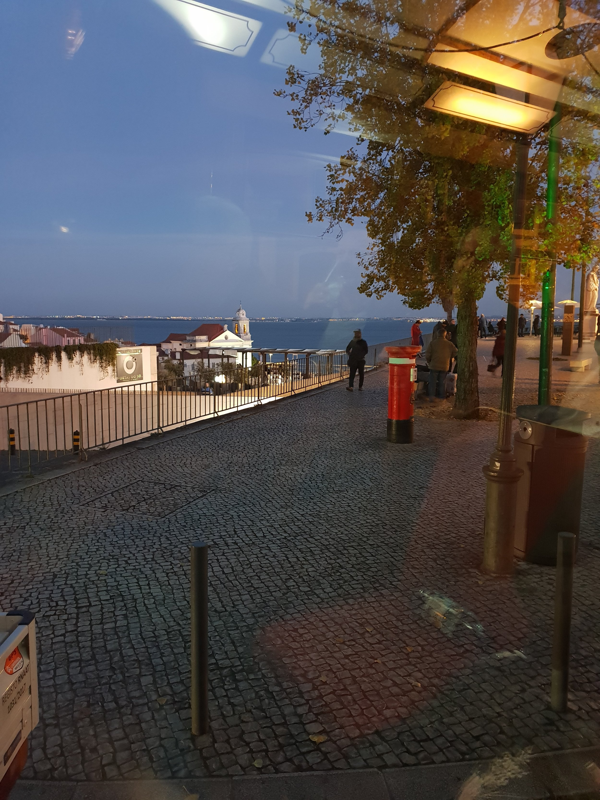 travel blogger explores lisbon in one evening
