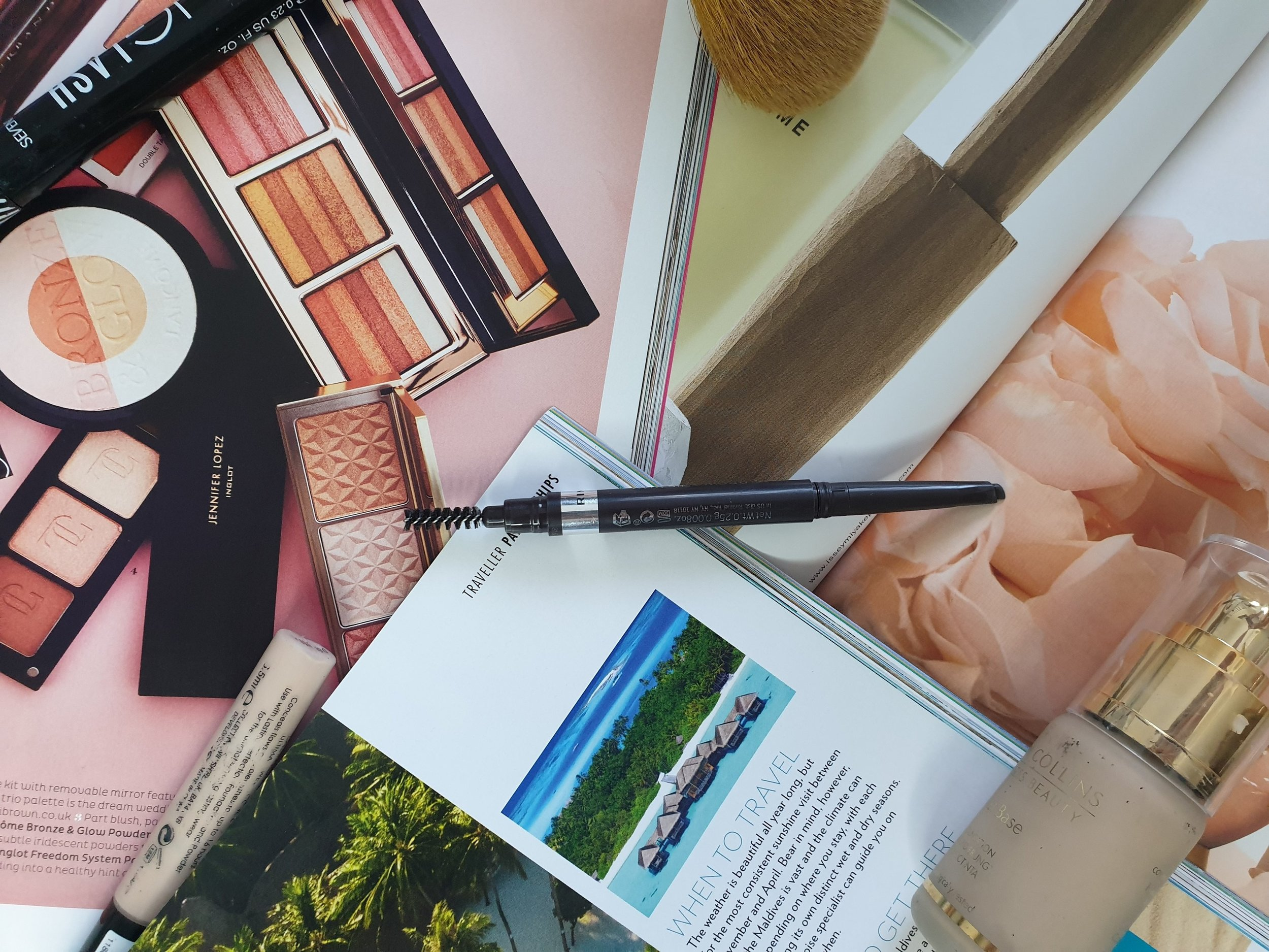 beauty blogger reviews rimmel london brow this way eyebrow definer pencil