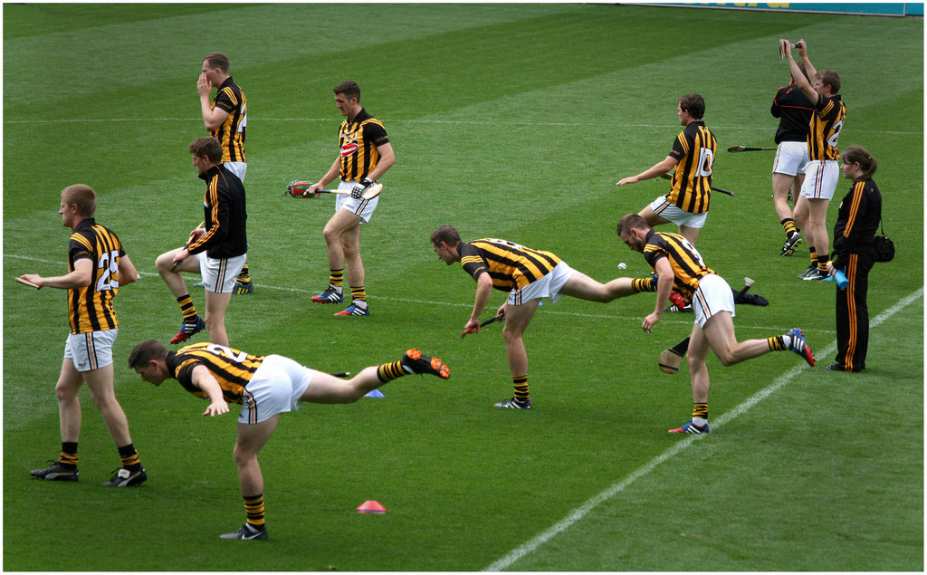warm up for hurling