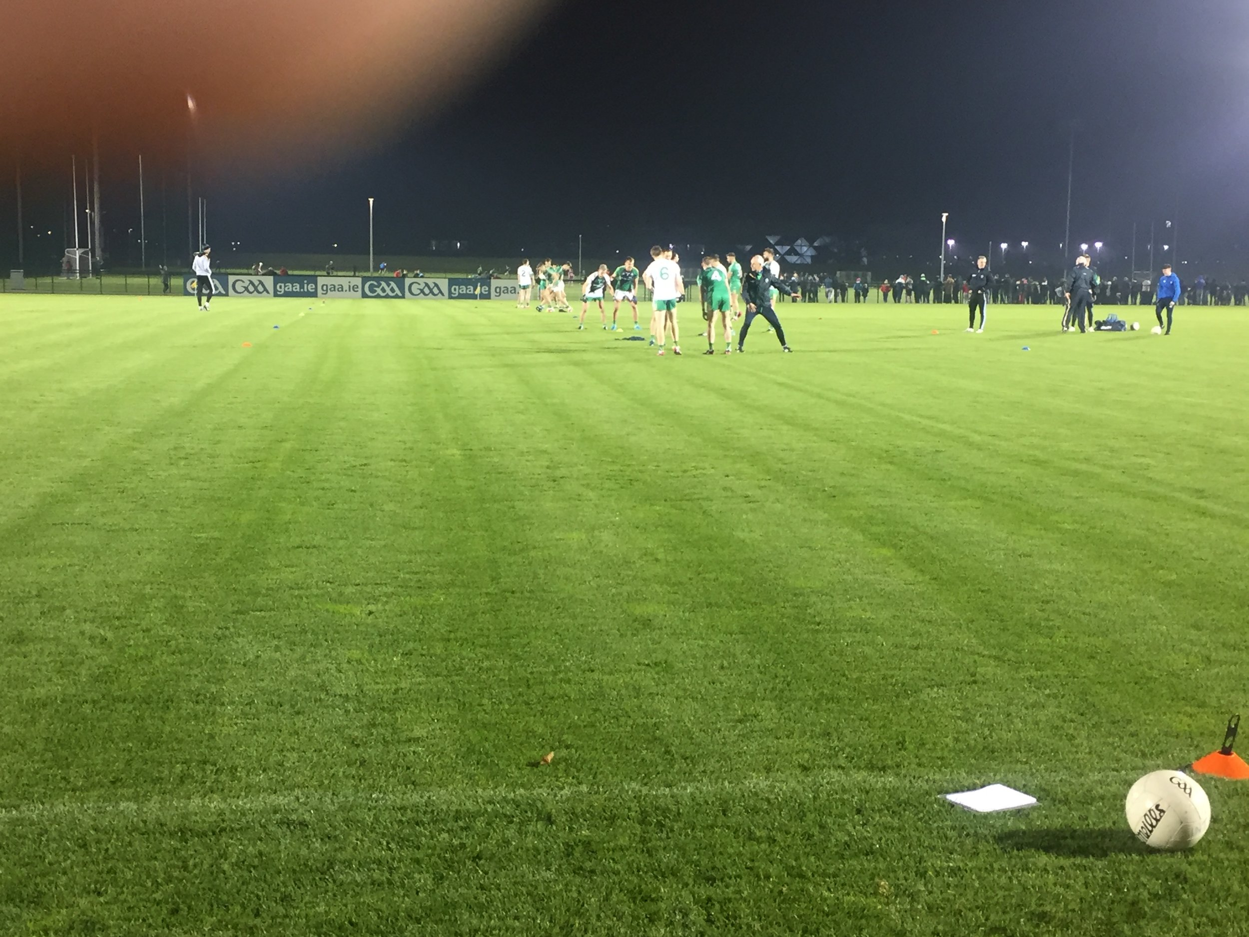Photo: International rules training @ Abbotstown, Dublin