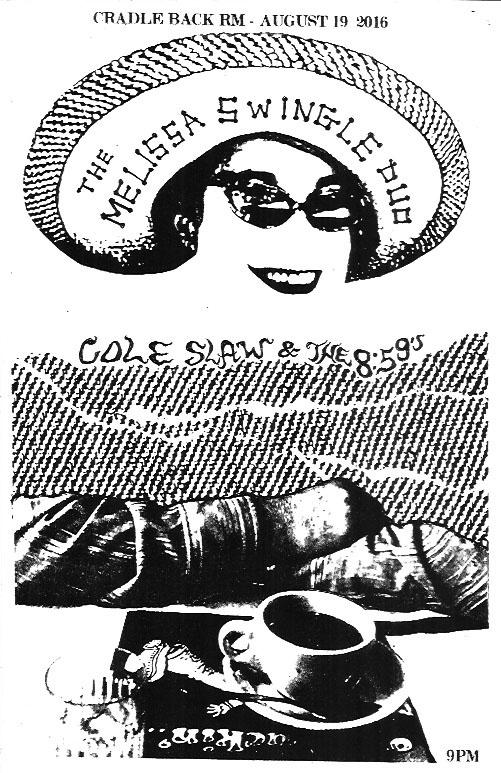Melissa Swingle Duo - Cole Slaw - The 8:59's
