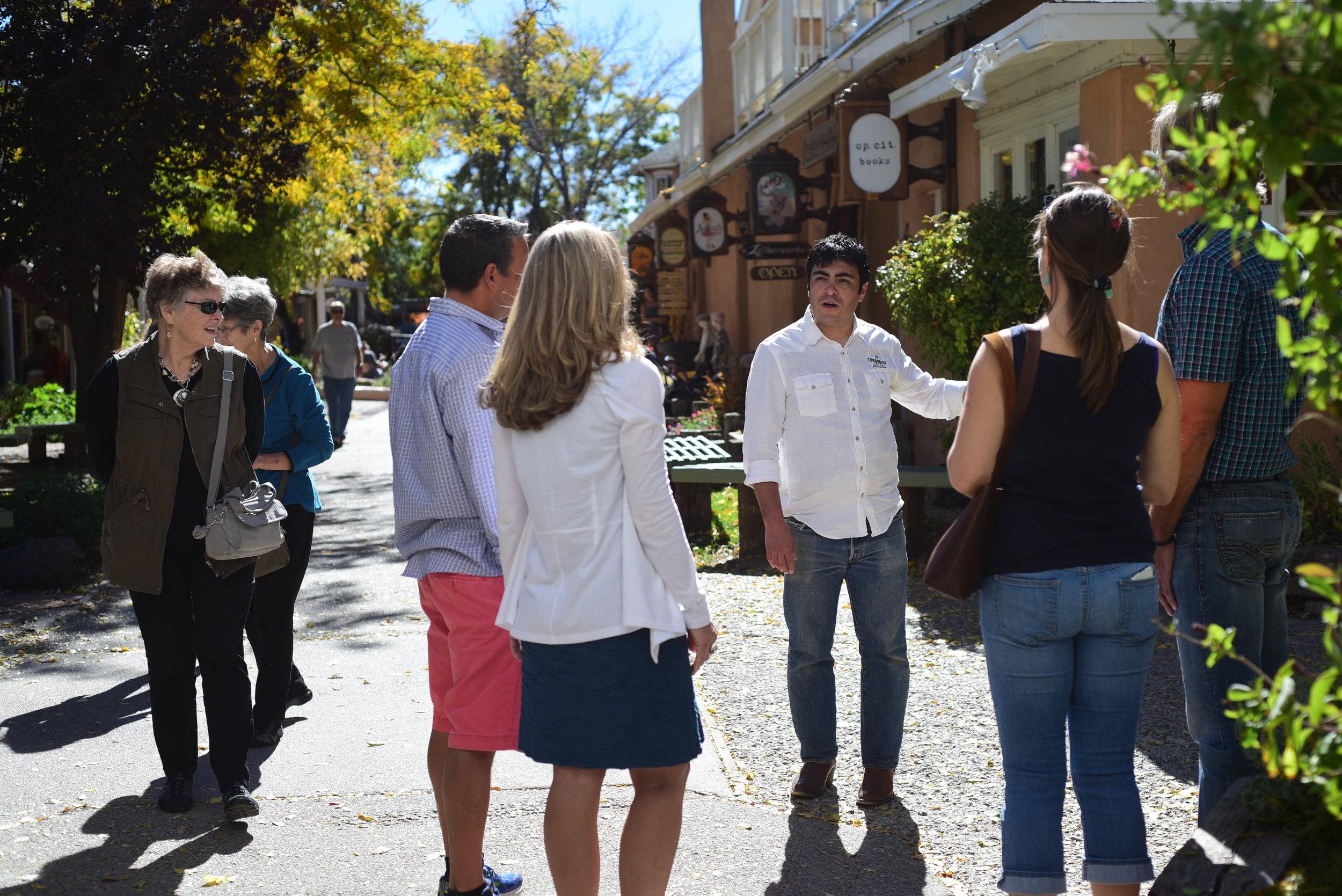 Downtown Taos Walking Tour