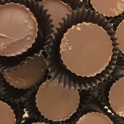 Peanut Butter Cup (Sugar Free)    Available in milk chocolate