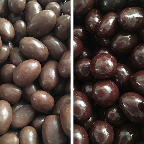 Chocolate Covered Peanuts    Available in milk and dark chocolate