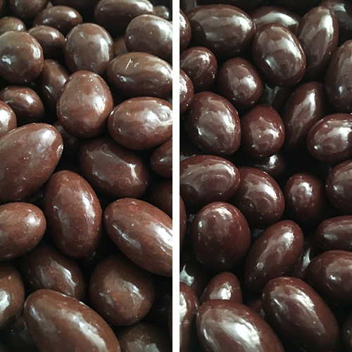 Chocolate Covered Almonds    Available in milk and dark chocolate