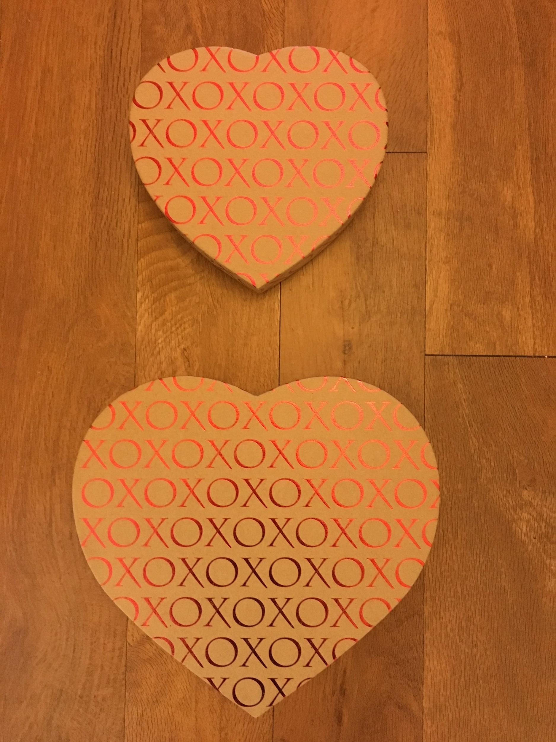 Kraft XOXO Heart Box   1 lb. box - $11.95 1/2 lb. box - $9.95  (Does not include candy)