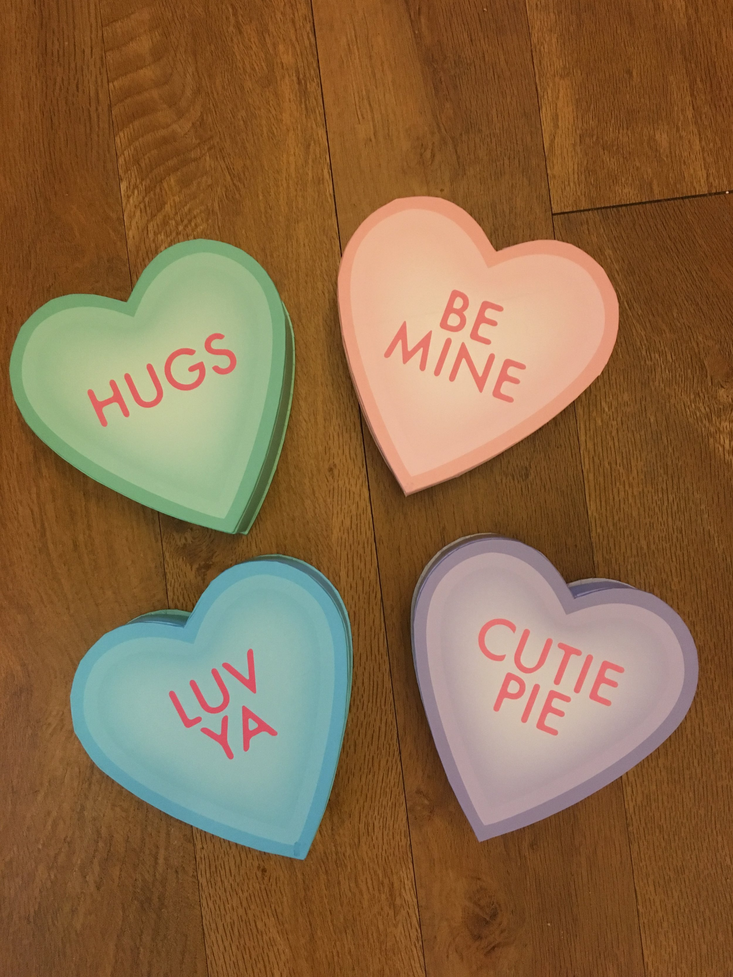 """""""Sayings"""" Heart Box   4 oz. box - $4.50  (Does not include candy)"""