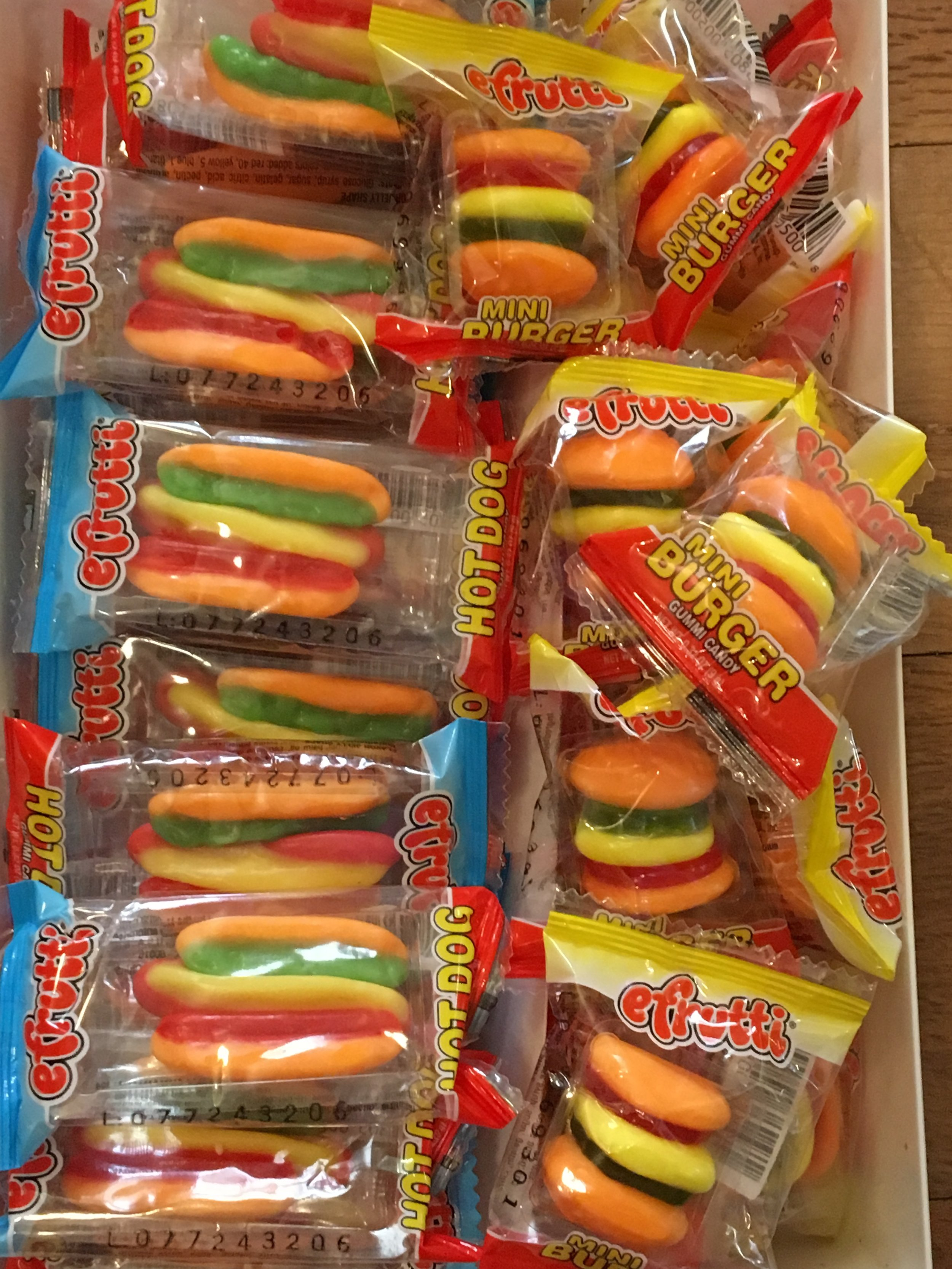 Gummi Hot Dogs & Burgers