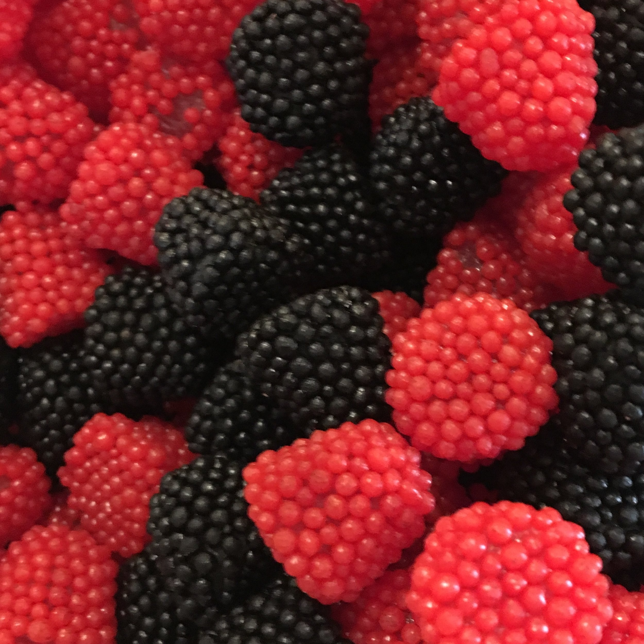 Haribo Raspberries & Blackberries