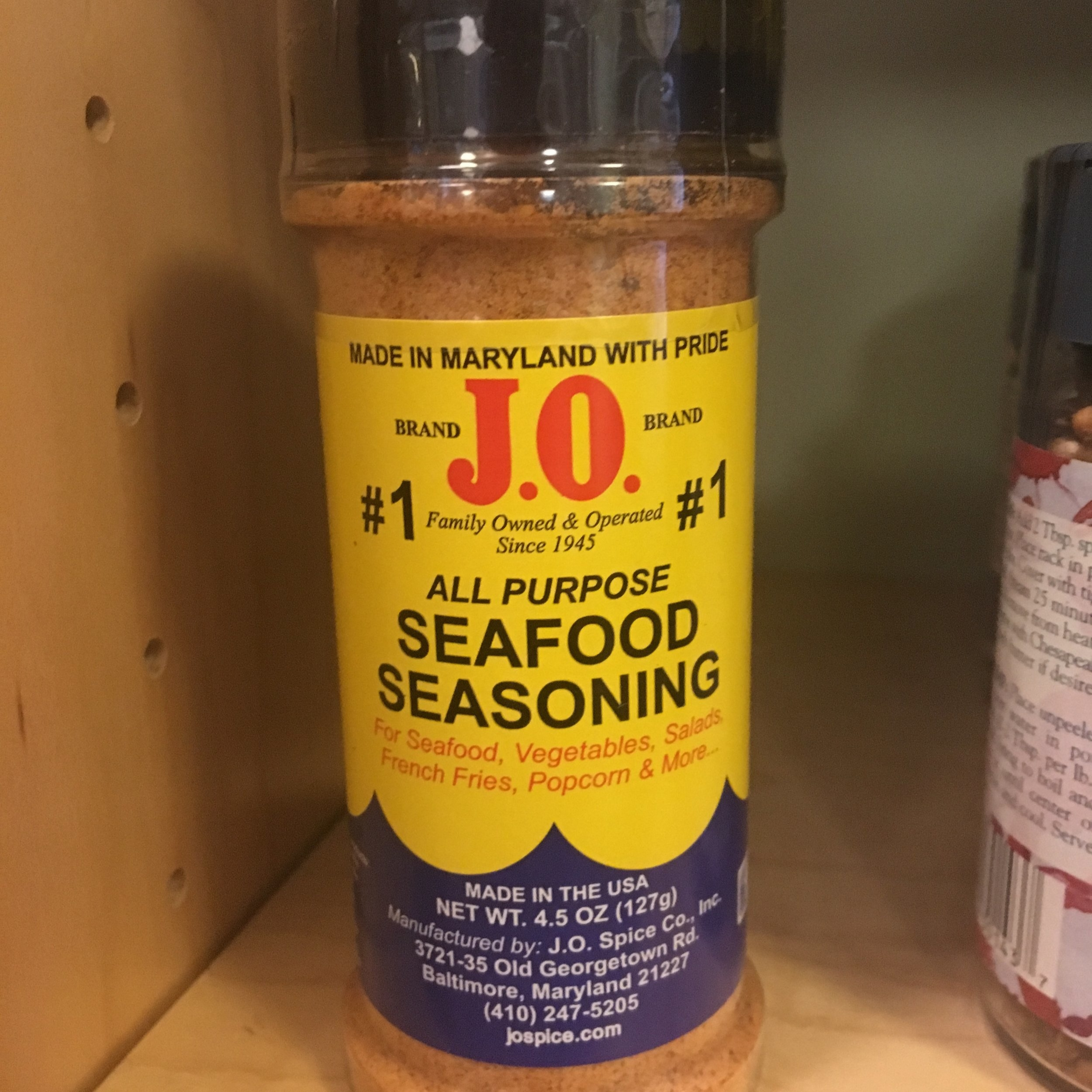 J.O. Spice Seafood Seasoning