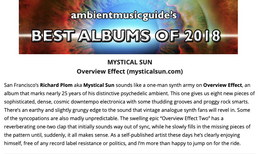 http://ambientmusicguide.com/best-of-year/best-albums-2018-reviews/#overview-effect