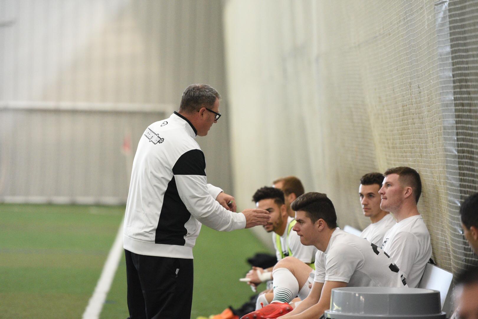 Coach Nick Deren and Team 1