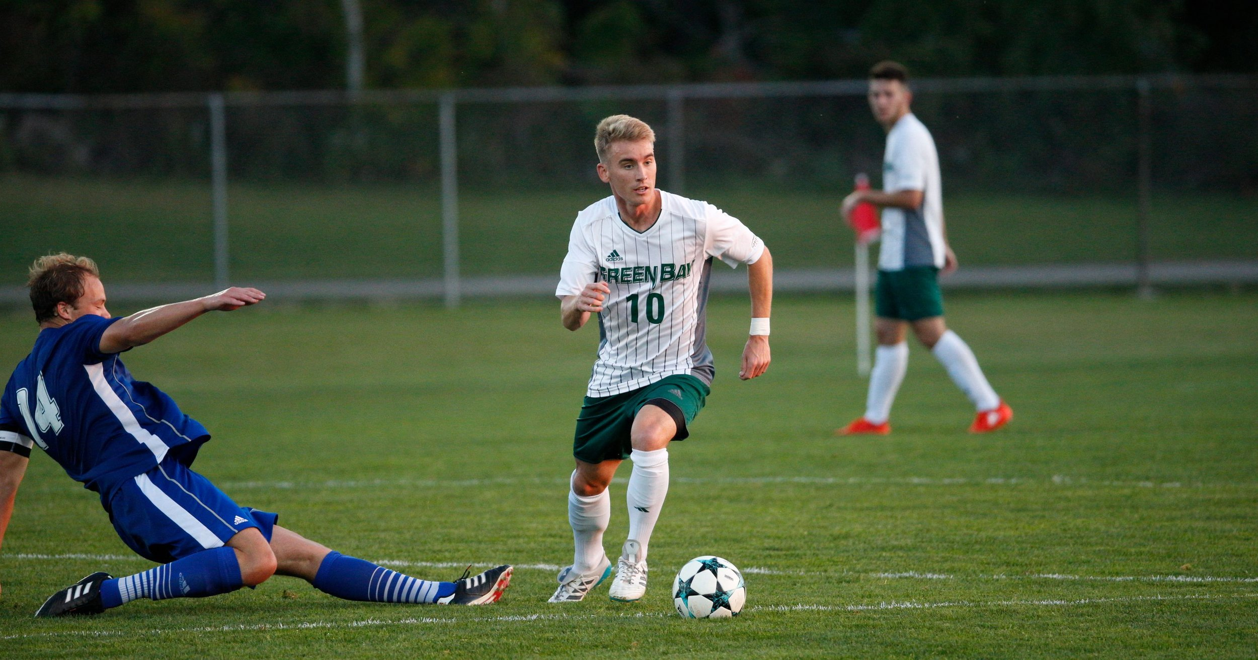 Horizon League Offensive Player of the Year 2017  Leading Scorer for UWGB with 11 Goals, 5 assists (19 points)