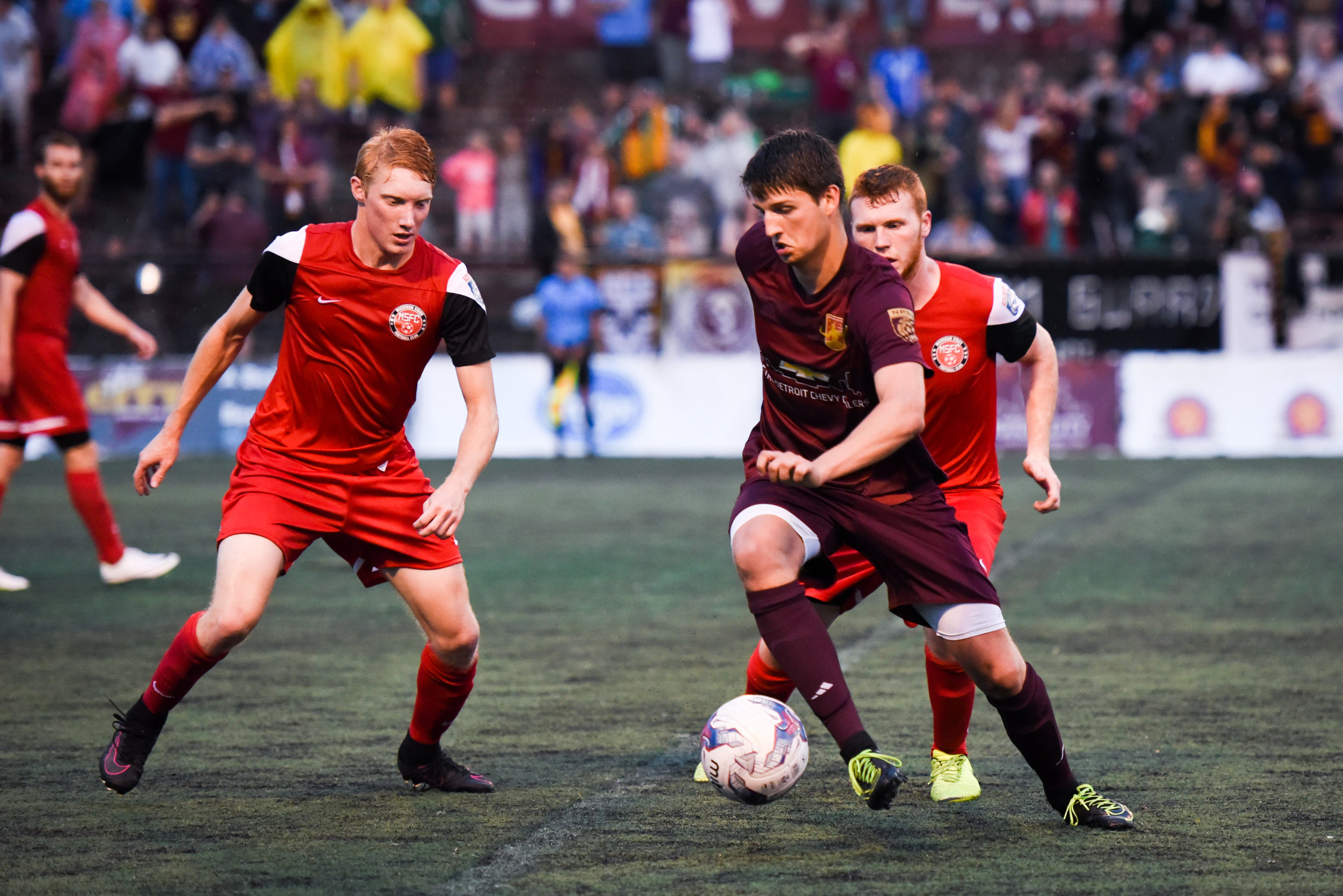 3 Year Starter for Detroit City FC (NPSL)  2017 Midwest Regional Champions