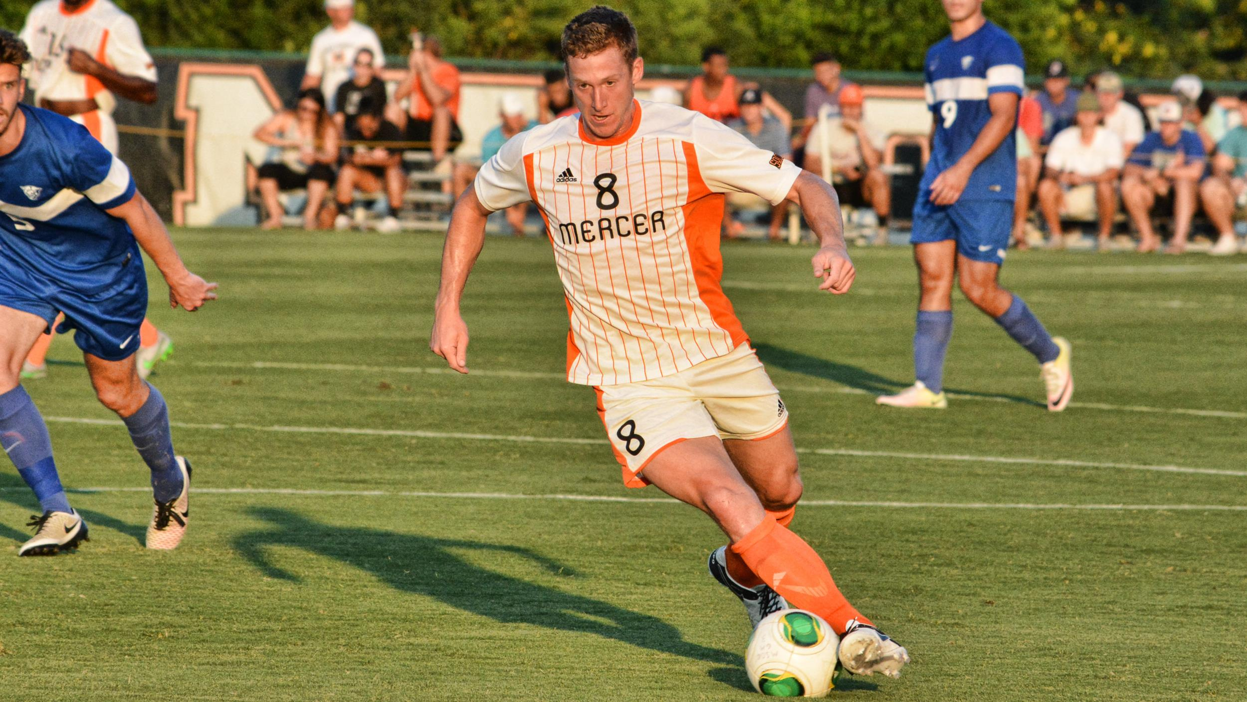 12 Goals and 9 Assists as a Center back for Mercer
