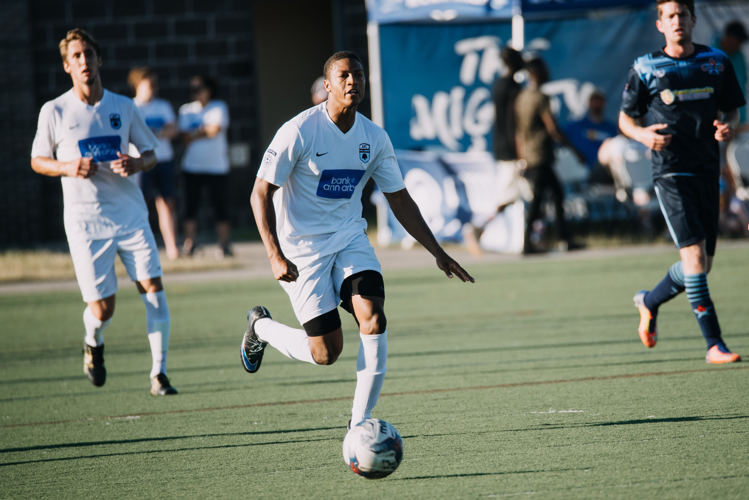 Key player for AFC Ann Arbor (NPSL) as Midwest Regional Champion Finalist
