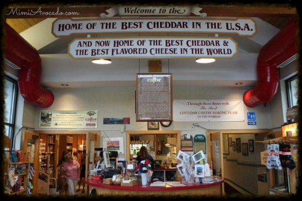 Cabot Creamery and visitor center