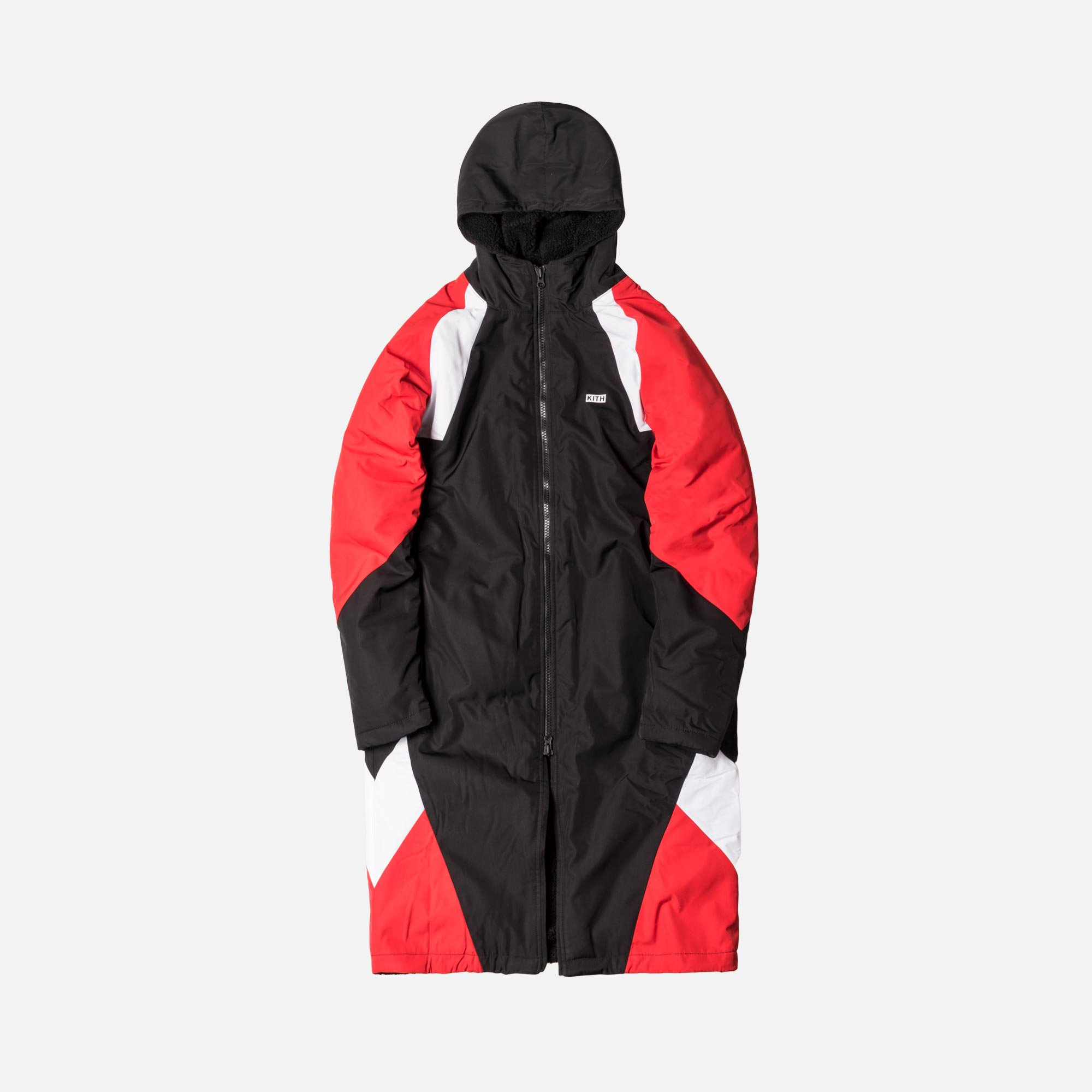 Kith x Nike Sherpa Sideline Coat