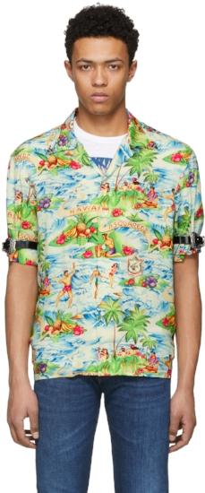 Hawaiian Shirt ($357), by Dsquared2