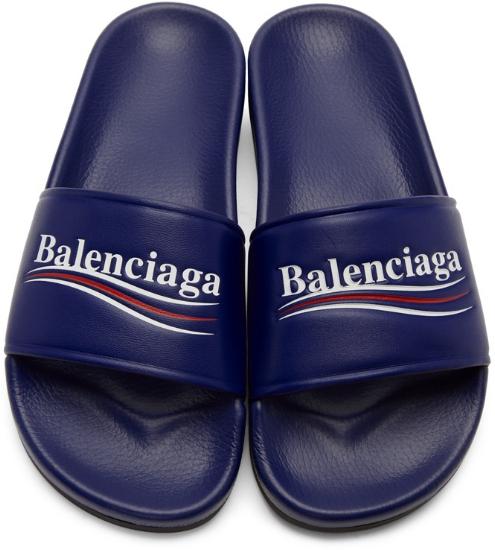 Campaign Pool Slides ($595), by Balenciaga