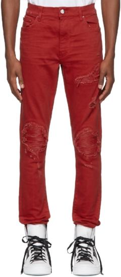 Mx1 Classic Jeans ($718), by Amiri