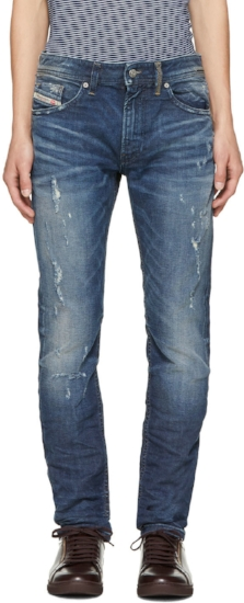 Ripped Thommer Jeans ($132), by Diesel