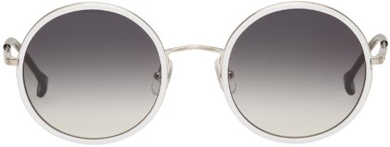 Round 4 Sunglasses ($254), by Issey Miyake Men