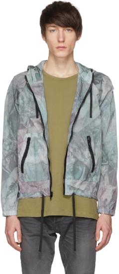 Tie Dye Shell Jacket ($245), by John Elliott