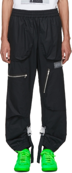 Art Dad Shuttle Track Pants ($680), by Off-White