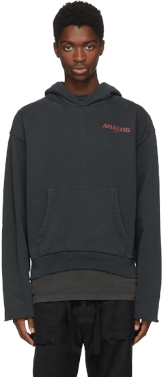 Analog' On Deck Art Dad Hoodie ($362), by Off-White